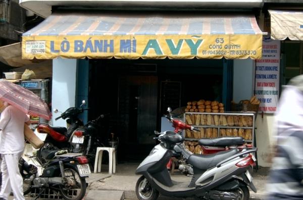 Fresh Vietnamese baguettes vegetarian.