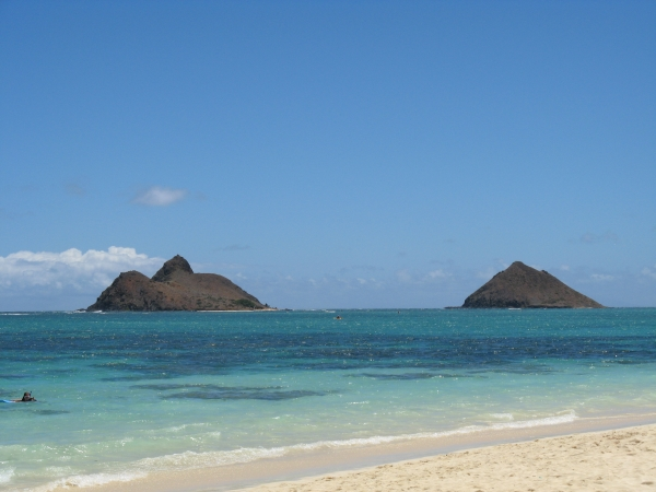 Lanikai best beach hawaii