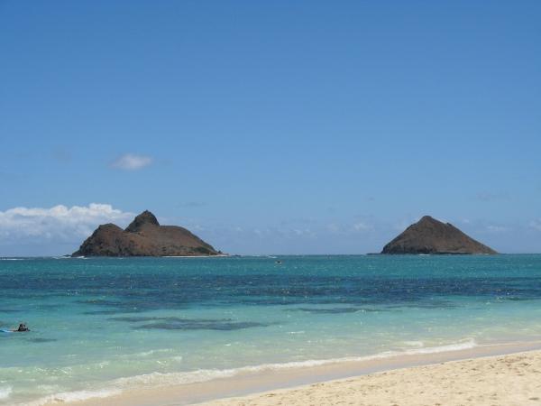 Lanikai best beach hawaii