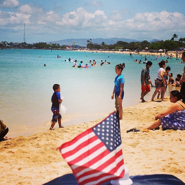ala moana beach memorial day