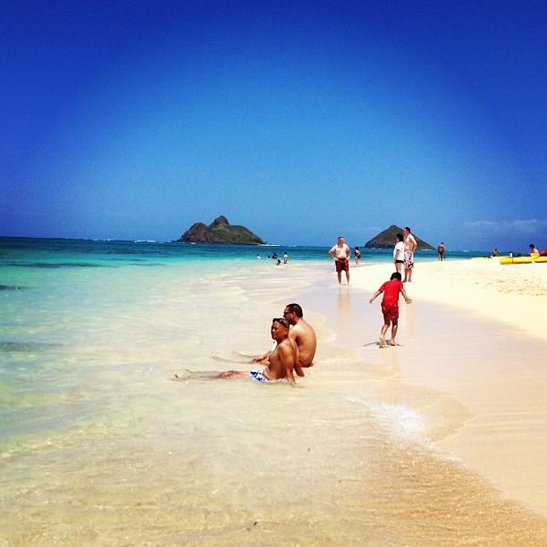lanikai hawaii beach beach oahu