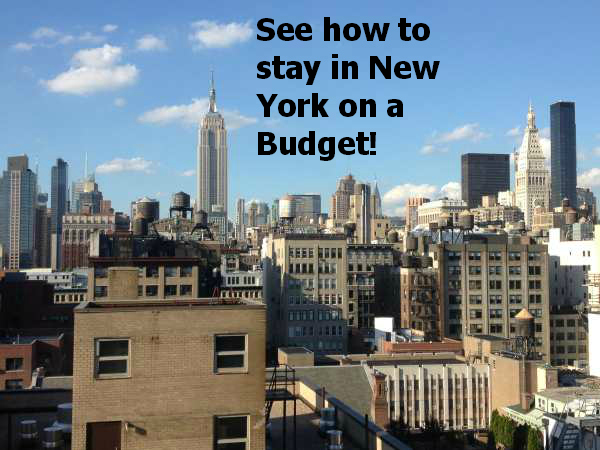 Check out our Budget for our first 30 Days in New York