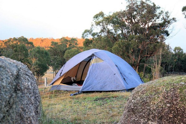camping holiday tent
