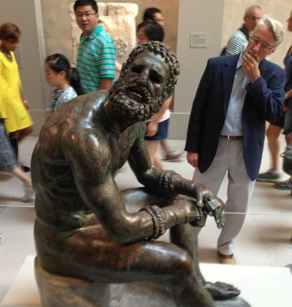 The Boxer from between 300-30 BC