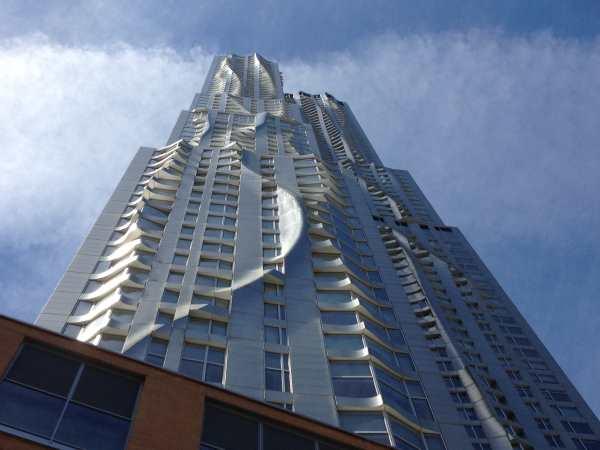 8 Spruce St, lower Manhattan.