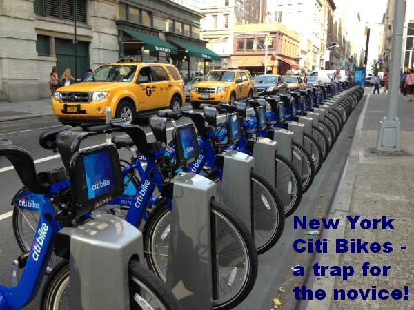 New York Citi Bikes Share Scheme