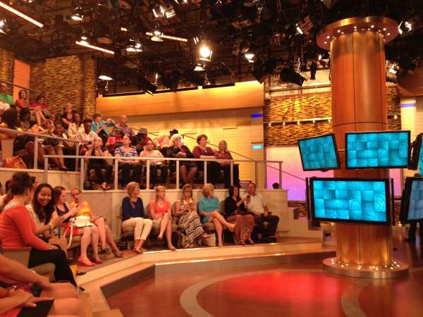 Dr Oz Show - before the start