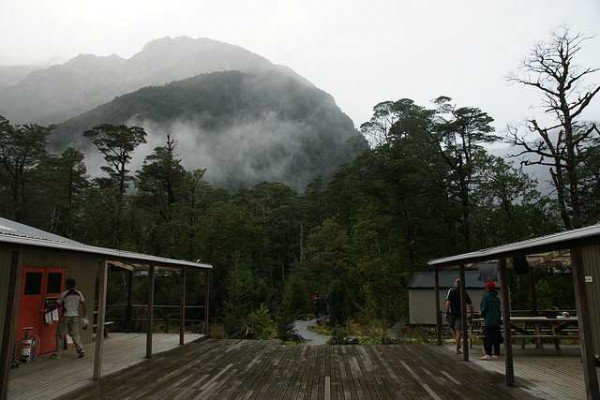 Free walking the Milford Track.