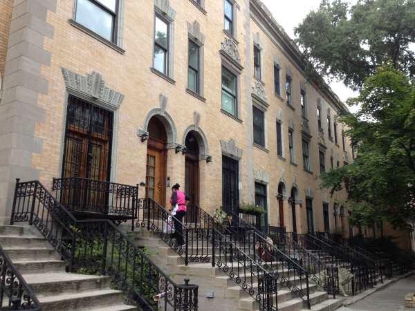 A fancy street in Harlem