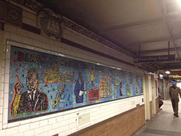 Harlem subway at 135th St on Lennox Ave