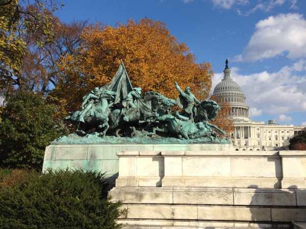 Part of Grant Memorial