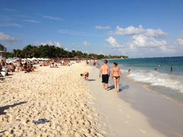 North Playa beach