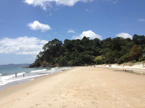 Whangapoua beach southern end