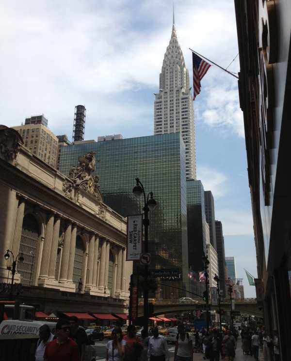Grand Cental Station and Chrysler Building