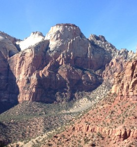 Zion National Park - visiting with our newborn.