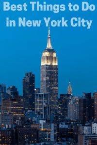 Best Things to Do on a Short Visit to New York City